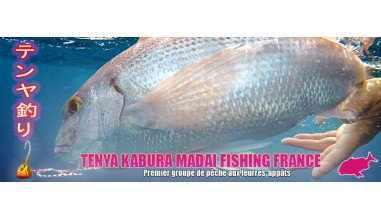 Page TENYA KABURA MADAI FISHING FRANCE